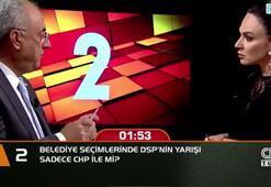 Belediye seçimlerinde DSPnin yarışı sadece CHP ile mi