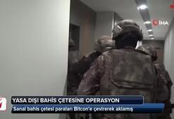Sanal bahis çetesi paraları Bitcoin'e çevirerek aklamış