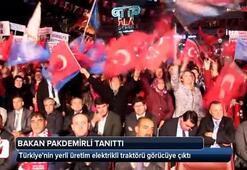 Türkiyenin yerli üretim elektrikli traktörü görücüye çıktı