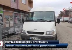 Muşta kaçak göçmen operasyon