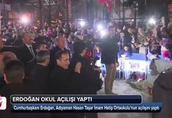 Cumhurbaşkanı Erdoğan okul açılışı yaptı