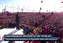 Cumhurbaşkanı Erdoğan ilk kez yayınladı İşte son hali