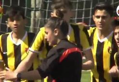 Galatasaraylı genç yetenek Beknazdan örnek davranış