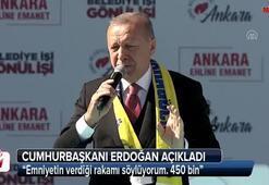 Cumhurbaşkanı Erdoğan Ankara mitinginde konuştu