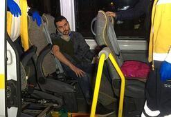 Bursada işçileri taşıyan minibüs devrildi: Çok sayıda yaralı var