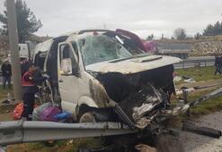 Mersin'de feci kaza: 1 ölü, 11 yaralı