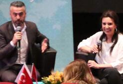 Perihan Savaş Arnavutluktaki sinemaseverlerle buluştu