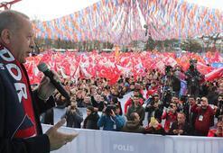 Cumhurbaşkanı Erdoğan: Pazar günü dünyanın kaç bucak olduğunu anlasınlar
