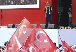 Ankara mitinginde konuşan Özhaseki: Buradan ilan ediyorum