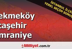 Çekmeköy Ataşehir Ümraniye  seçim sonuçları | 2019 Yerel Seçim sonuçları