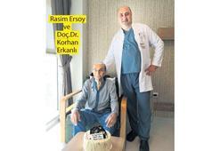 Asırlık dedeye kalp ameliyatı