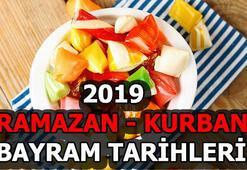 Ramazan - Kurban Bayramı ne zaman Bayramlar bu yıl hangi günlere denk geliyor