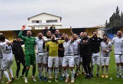 Menemen Belediyespor gol oldu yağdı