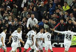 Valencia-Real Madrid: 2-1