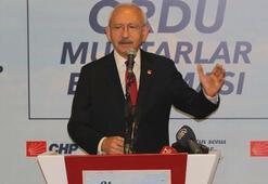Kılıçdaroğlu Orduda STK temsilcileri ve muhtarlarla buluştu