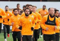 Eksik Galatasaray core çalıştı