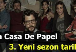 La Casa de Papel yeni sezon ne zaman 3. Sezon tarihi belli oldu
