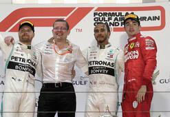 Bahreynde Lewis Hamilton kazandı Ferraride drama...