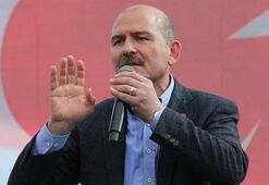 Bakan Soylu: Türkiyeye patlayıcı girişi operasyonla engellendi