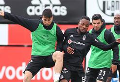 Beşiktaşta çalışmalar sürüyor