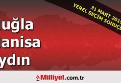Muğla Manisa Aydın seçim sonuçları | 2019 seçim sonuçları ve oy oranları