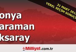 Konya Karaman Aksaray seçim sonuçları | 2019 seçim sonuçları ve oy oranları