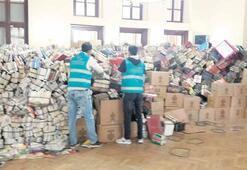 Mahkumlardan 3 yılda  6.5 milyon kitap tasnifi