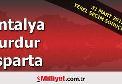 Antalya Burdur Isparta seçim sonuçları | 2019 seçim sonuçları ve oy oranları