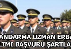 Jandarma Uzman Erbaş alımı başvurusu nasıl yapılır, şartlar neler Son başvuru tarihi...