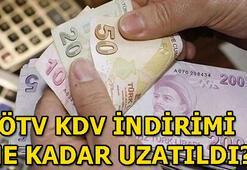 ÖTV ve KDV indirimi ne zaman bitiyor ÖTV ve KDV indirimi hangi ürünlerde var