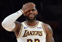 Lakersa LeBron da yetmedi