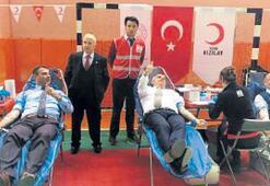 Kan bağışında  rekor Salihli'de