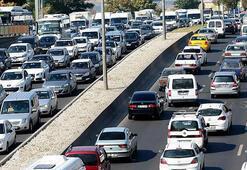 Trafiğe iki ayda 100 bin 511 aracın kaydı yapıldı