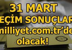 31 Mart Yerel Seçim Sonuçları milliyet.com.tr seçim özel sayfasında takip edilecek