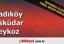 Kadıköy Üsküdar Beykoz seçim sonuçları | 2019 Yerel seçim sonuçları