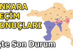 2019 Ankara Yerel Seçim sonuçları | 31 Mart Ankara ilçe seçim sonuçları ve oy oranları