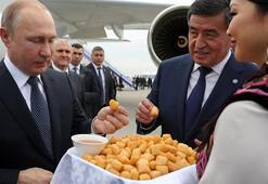 Putin Bişkekte Rusya ve Kırgızistandan askeri anlaşma