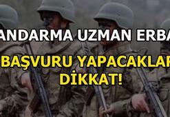 Jandarma sözleşmeli uzman erbaş başvuruları için son gün