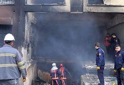 Metruk binada yangın faciası