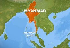 Myanmarda patlama