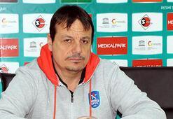 Ergin Ataman: Kazandığımız için mutluyuz