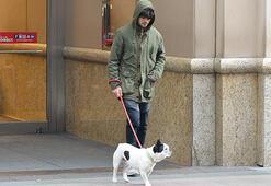 Köpeğiyle alışverişe çıktı