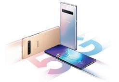 Samsung Galaxy S10 5Gyi piyasaya sürdü
