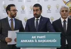 AK Parti İl Başkanı: Ankaradaki tüm oyların yeniden sayılması için başvuru yaptık