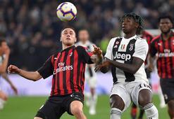 Dev maçta Juventus, Milanı ikinci yarıda yıktı