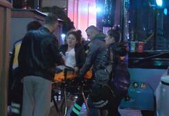 Şişlide halk otobüsü kaza yaptı, yaralılar var