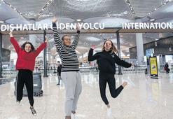 İstanbul Havalimanı'na sevinçle merhaba