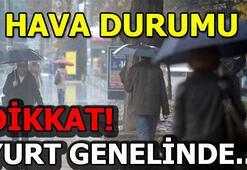 Ankara, İstanbul, İzmir hava durumu 7 Nisan Pazar günü hava nasıl olacak