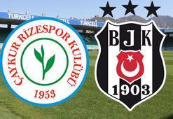 Çaykur Rizespor Beşiktaş maçı ne zaman saat kaçta hangi kanalda
