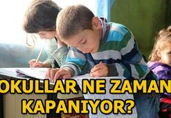 MEB açıkladı: İşte okullar ne zaman kapanıyor sorusunun yanıtı